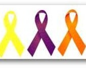 Hand written, Personalized added to purchase of Awareness Ribbons