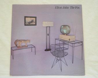 Vintage Record Elton John: The Fox Album GHS-2002