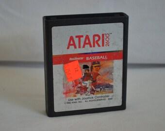 Atari 2600 Video Game: Real Sports Baseball