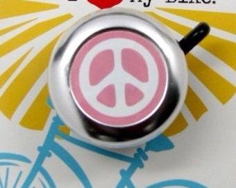 Pink Peace Bike Bell