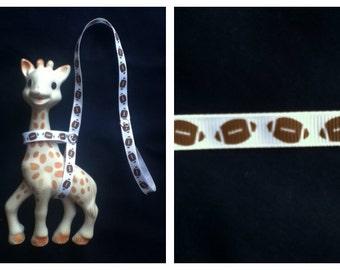 Sophie the Giraffe Leash Harness Football