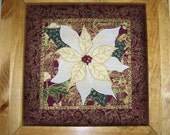 TIS THE SEASON - Applique - Art Quilt Pdf E-Pattern with Digital Instructions and Easy Trace Pattern Pieces