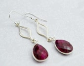 Ruby Red Sterling Silver ...