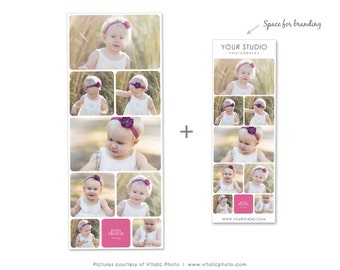 Blog Board & Collage Template Storyboard for Photographers