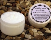 Cooling intensive foot cream, lavender mint foot cream, intensive moisturizing foot cream
