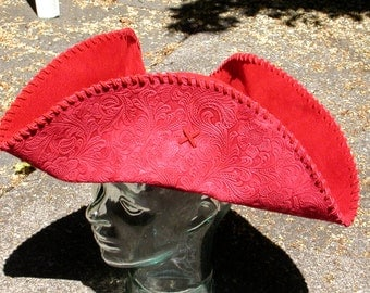 colonial hat template - colonial tricorn hat etsy