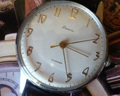 Vintage beautiful Russian Vesna mens wristwatch from the 50's