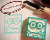 Minion Rubber Stamp