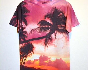 Sunset Beach T-Shirt-356