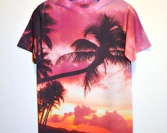 Sunset Beach T-Shirt-356