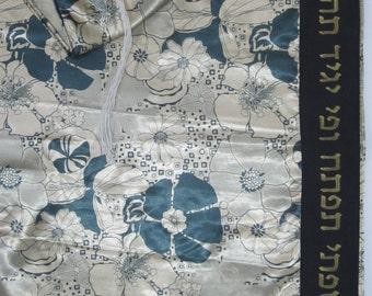 Gold Tallit with Flowers (Prayer Shawl)