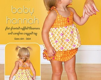 Mod Kid Sewing Pattern - Baby Hannah - Patty Young