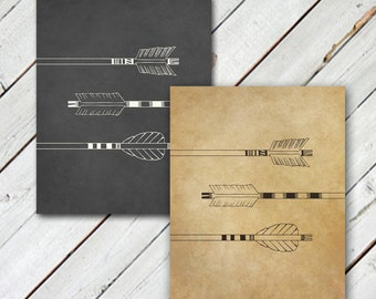 3 Arrows // Print