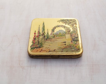 Vintage CLEFF of London Powder Compact 1930's