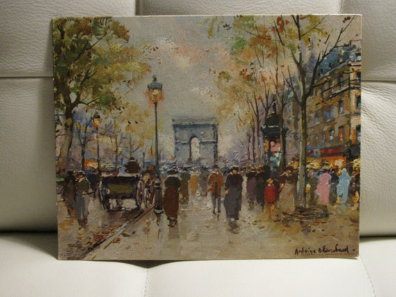 Champs Elysee By Blanchard Fine Art Prints By Gellman Print