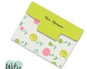 DIY Fun Flowers Notepad and Notepad Cover (printable pdf file, customizable, editable) - Perfect for Teachers and Mothers Day