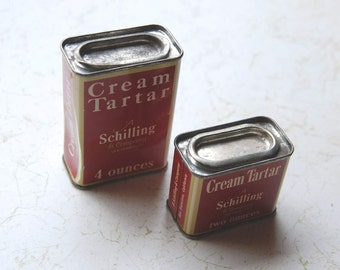 Schilling Tartar Tins