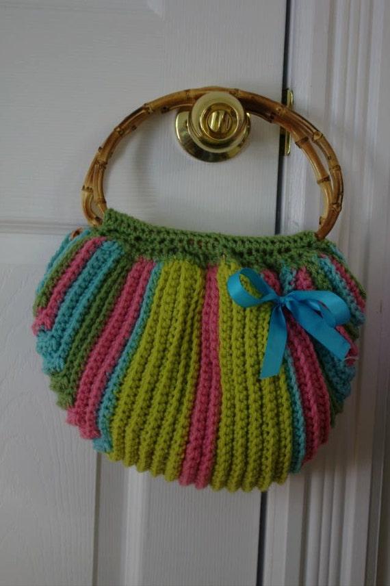 Free Crochet Patterns Fat Bottom Bag : CROCHET PATTERN Multi color Fat Bottom Bag Permission to