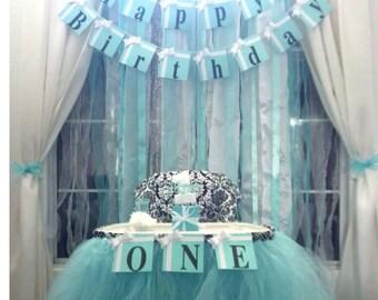 """Birthday Party """"Happy Birthday""""  Banner"""
