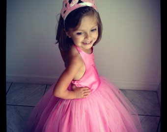 Pink Princess Royal Ball Gown