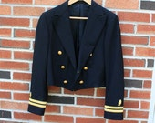 Vintage Authentic US Navy Military Jacket
