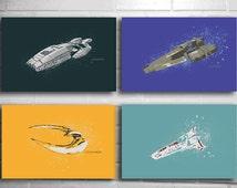 Battlestar Galactica print series