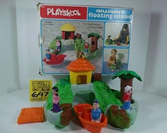 1970's Fisher Price Playskool Gilligans Island Playset
