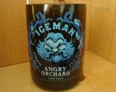 SET OF 2 Angry Orchard Iceman Hard Cider Bottle Glass 18 oz