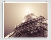 Paris photography - The Eiffel tower by night - Paris photo,Fine art photography,Paris decor,8x10 wall art,white,Fine art prints,Art Posters
