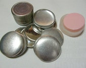 "25 Aluminum Flat Back Self Cover Buttons Size 75 (1 7/8"")"