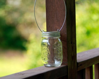 Hanging Mason Jar Lids set of 6, Hanging Mason Jars, Hanging Jars- LIDS ONLY, wedding mason jars, rustic wedding decor, Set of 6