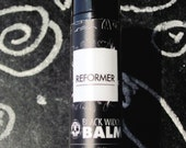 REFORMER Lip Conditioner:  All purpose, seriously simple lip balm made with bright golden notes of rose otto