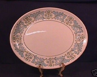 Taylor Smith Taylor Fern Valley pat. 13 3/4 in. Platter