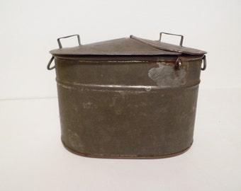 Rare 1800s Salesmans Sample Copper Boiler
