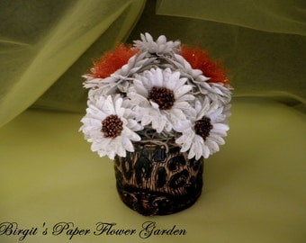 Handmade Paper Flower Centerpiece, Paper Flower Decoration, Hostess gift
