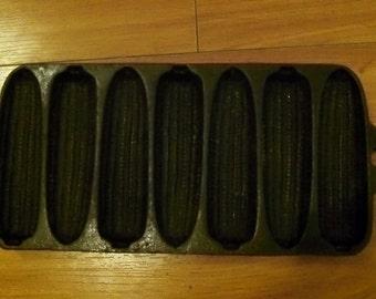 Vintage Cast Iron Cornbread Mold