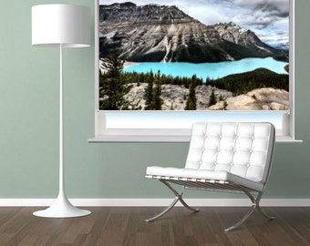 RB45 - Peyto lake canada landscape scene photo roller blind