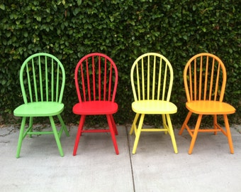 Items Similar To Your Choice Custom Chair Hand Painted For
