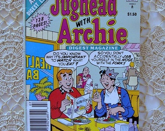 1991 Jughead with Archie Digest Magazine No 107