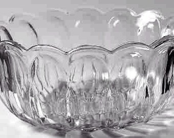 Retro Clear Anchor Honking Vintage Bowl Fairfield Collection