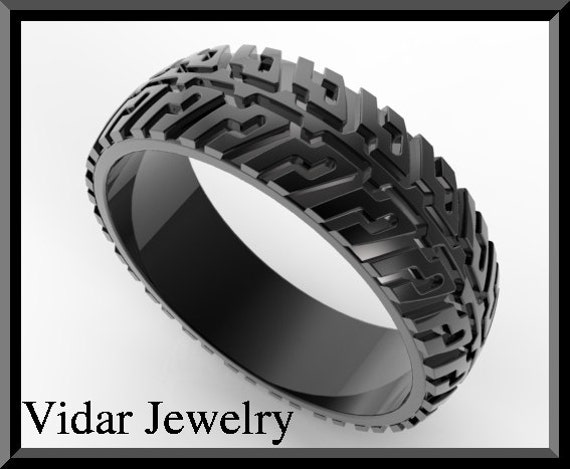 mud tire wedding ring set pictures - Mud Tire Wedding Rings