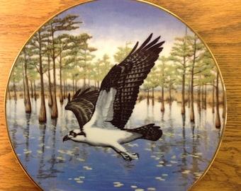 "Vintage Hamilton Collection Plate ""Commanding the Marsh"""