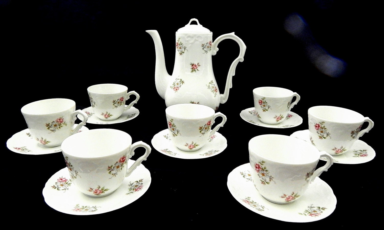 Princess House Tea Set Vintage Porcelain Tea Set By Annetteattic