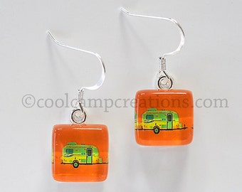 Casita Travel Trailer Earrings