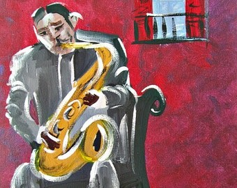 "Lester ""Prez"" Young, New Orleans Jazz Musician"
