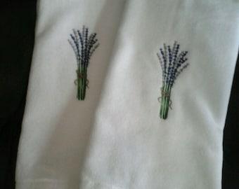 Lavender Set of towels