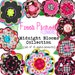 NEW Digital Clip Art -- Midnight Blooms Collection (Instant Download)