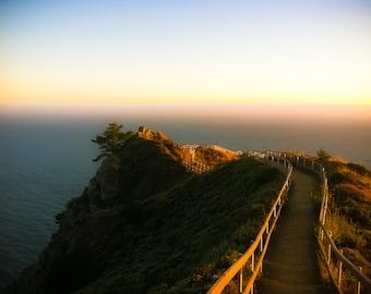 Ocean Photography, Muir Beach Photography, San Francisco, Northern California, Blue, Sunset, GBK's 2013 Emmys Gift Lounge