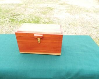 cedar jewel box