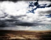 Elizabeth Colorado Countryside Cloudy Sky - 11 x 14 fine art print